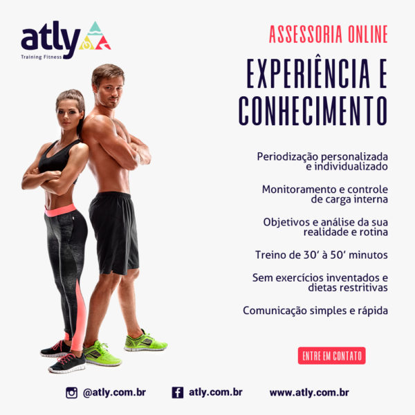 Atly Training Fitness - Assessoria online de treinamento